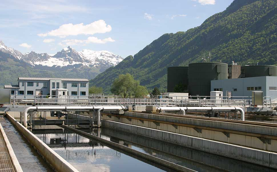 Robotic Nozzles for sludge wash down at sewage treatment plants