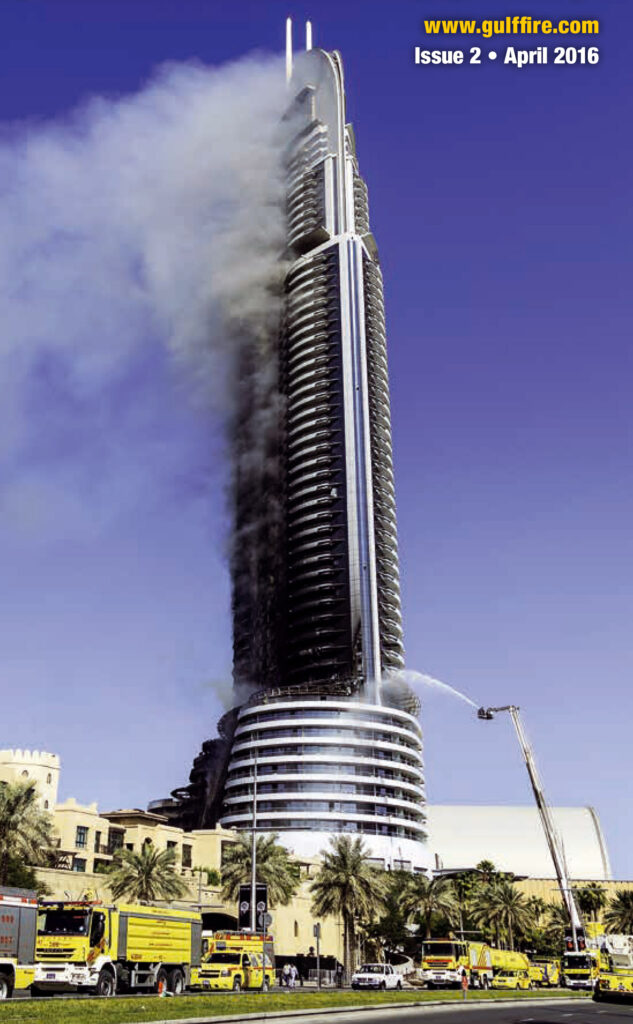 Combustible Cladding Fire - FlameRanger XT Automatic Fire Detection and Suppression for High Rise Building Exteriors